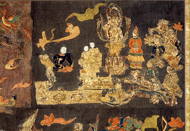 天寿国曼荼羅繍帳
